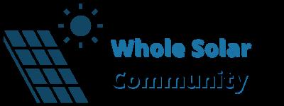 Whole Solar Community